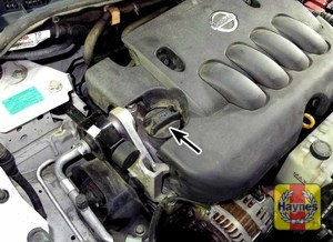 Illustration of step: Locate the oil filler cap and turn it counterclockwise - step 4