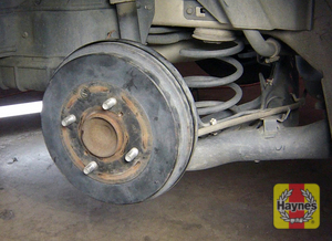 Illustration of step: Check the condition of the rear drum brakes - step 10