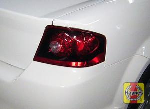 Illustration of step: Check tailights, brake, backup and turn signals  - step 3