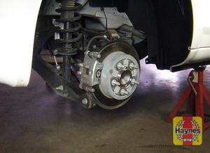 Illustration of step: If you have rear disc brakes, check their condition - step 12