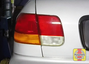Illustration of step: Check taillights, brakelights, reversing lights, and turn signals - step 3