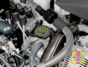 Illustration of step:  6 To add oil, remove the filler cap located on the valve cover - Engine oil - step 9