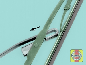 Illustration of step:  3  - Wiper blade replacement - step 5