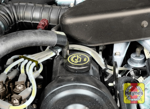 Illustration of step:  6 To add oil, remove the filler cap from the valve cover or filler neck - Engine oil - step 8