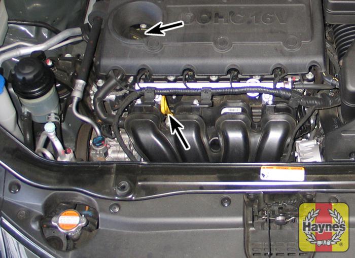 Kia sorento 2011 2013 2 4 fluid level checks for Best motor oil for 4 cylinder engines