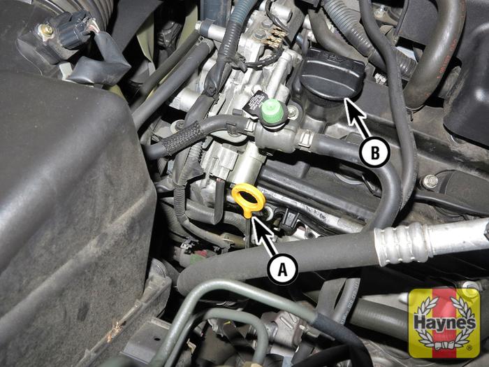 Nissan pathfinder 2013 2014 3 5 v6 fluid level for Nissan pathfinder motor oil