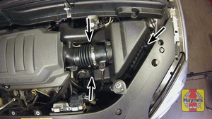 Illustration of step: 7 Remove the cover screws (six in total, not all screws visible in photo) - step 7